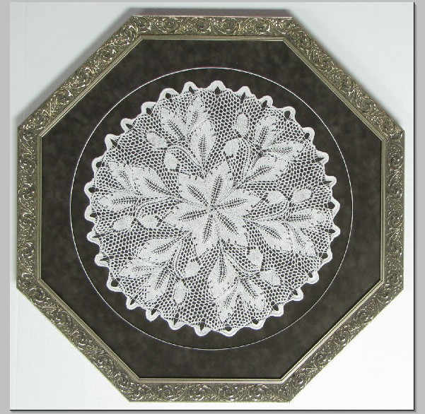 Doiley in Octagon Frame