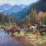 "Painting by Martin Grelle title: size: 52"" x 44"" year: 2012"